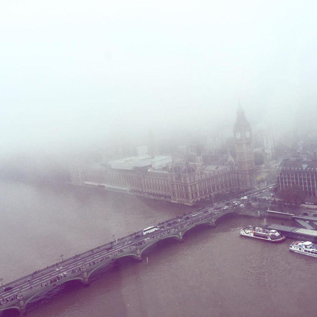 Beautiful London, from the Eye