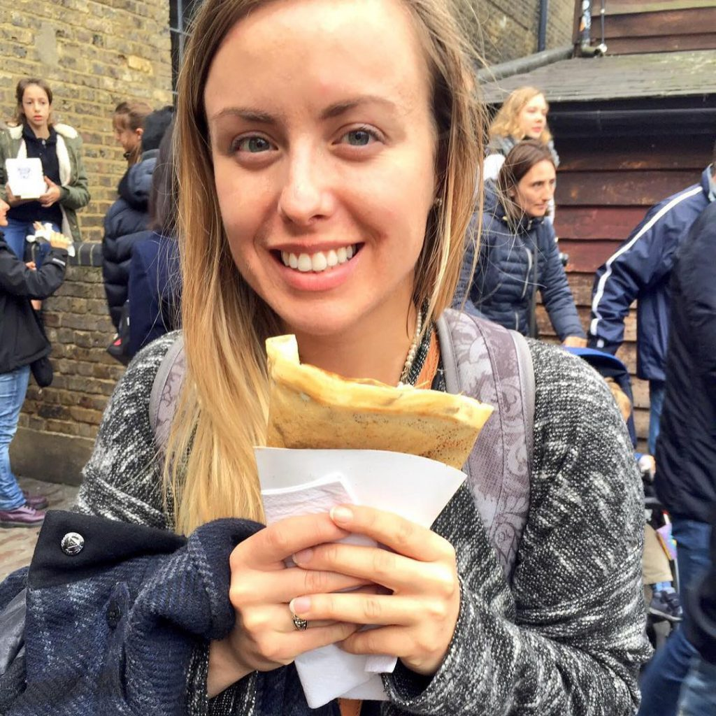 nutella crepe , camden market