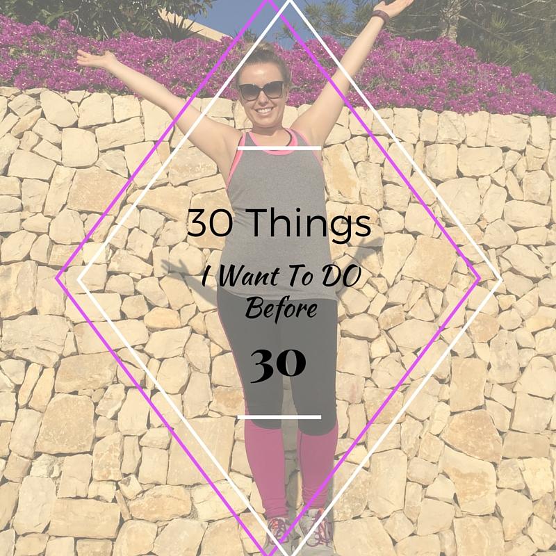 30 things before 30