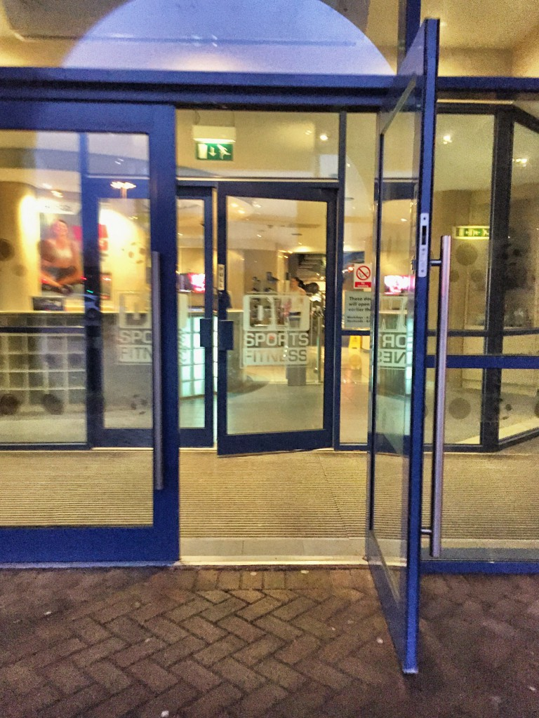 gym doors