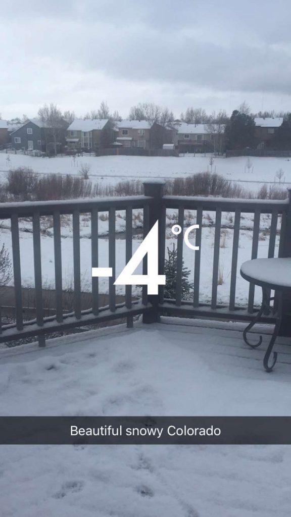 Crazy Colorado Temperatures