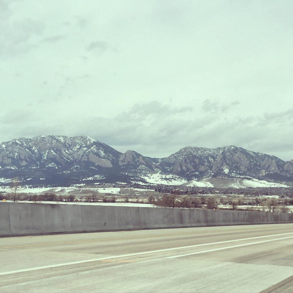colorado, rockies, mountains, flatirons