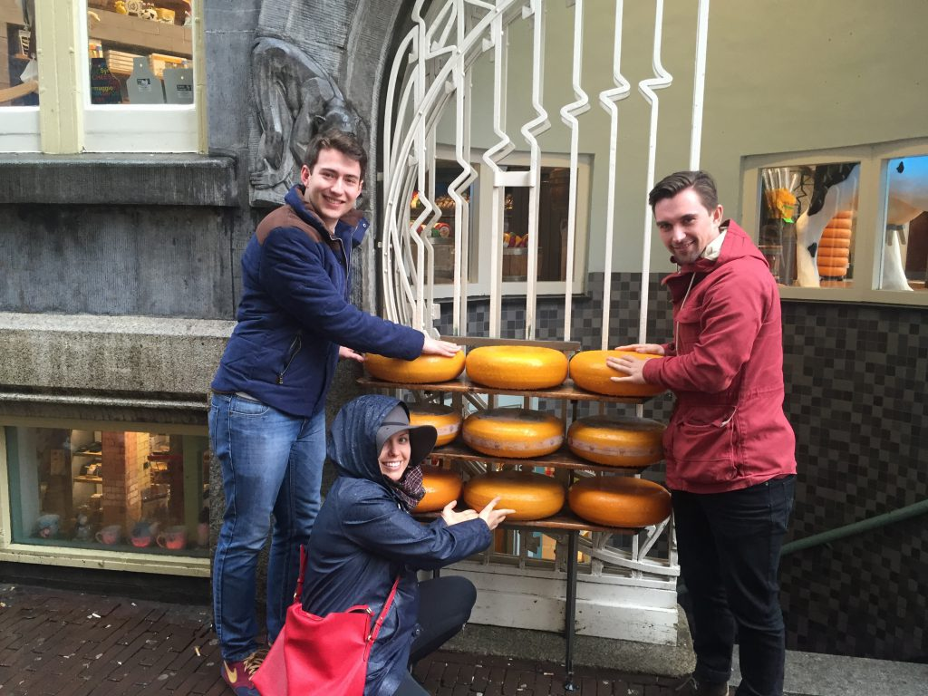Cheesey in Amsterdam