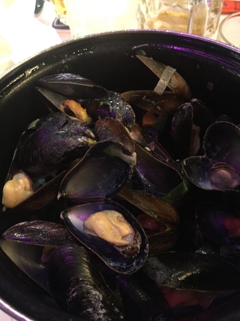 Mussels galore in Amsterdam