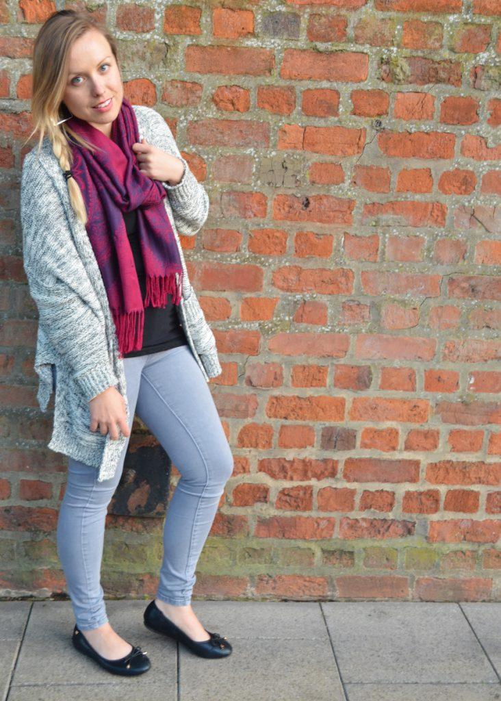 ootd, autumn, style, jeans, zara, sweater, jumper