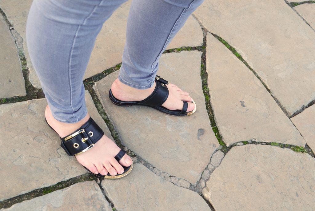 shoes, sandals, michael kors, fashion