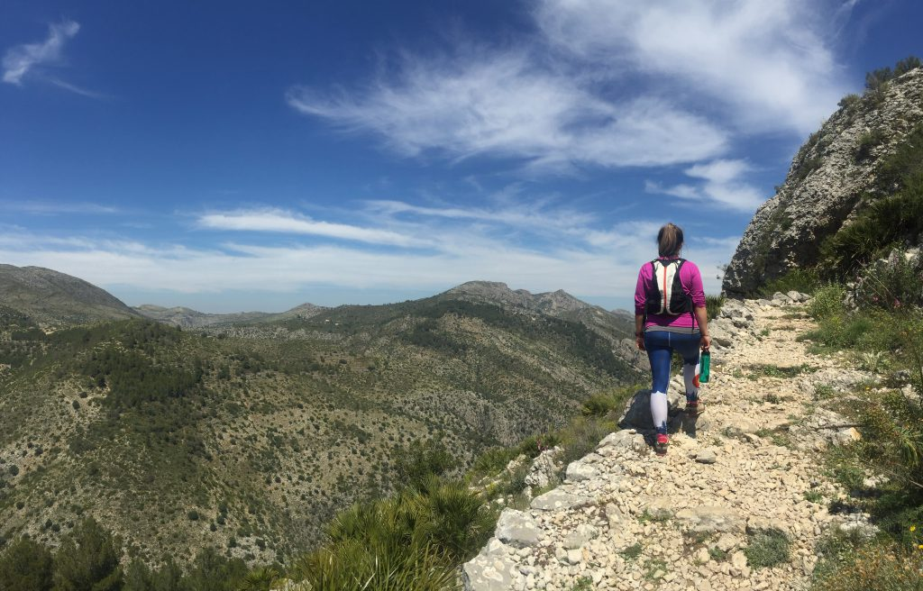 hiking el barranco del infierno