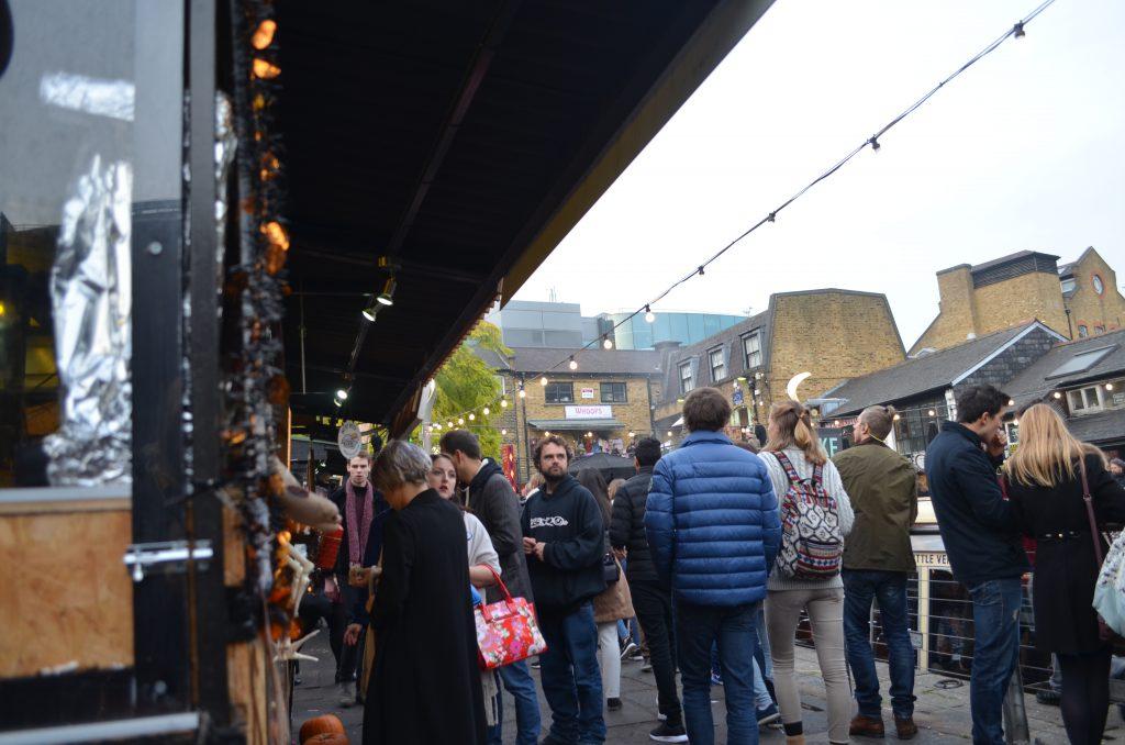 Food stalls, Camden Market, London
