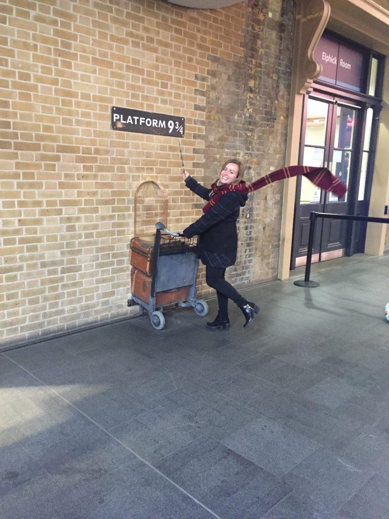 Platform 9 3/4 - Kings Cross, harry potter