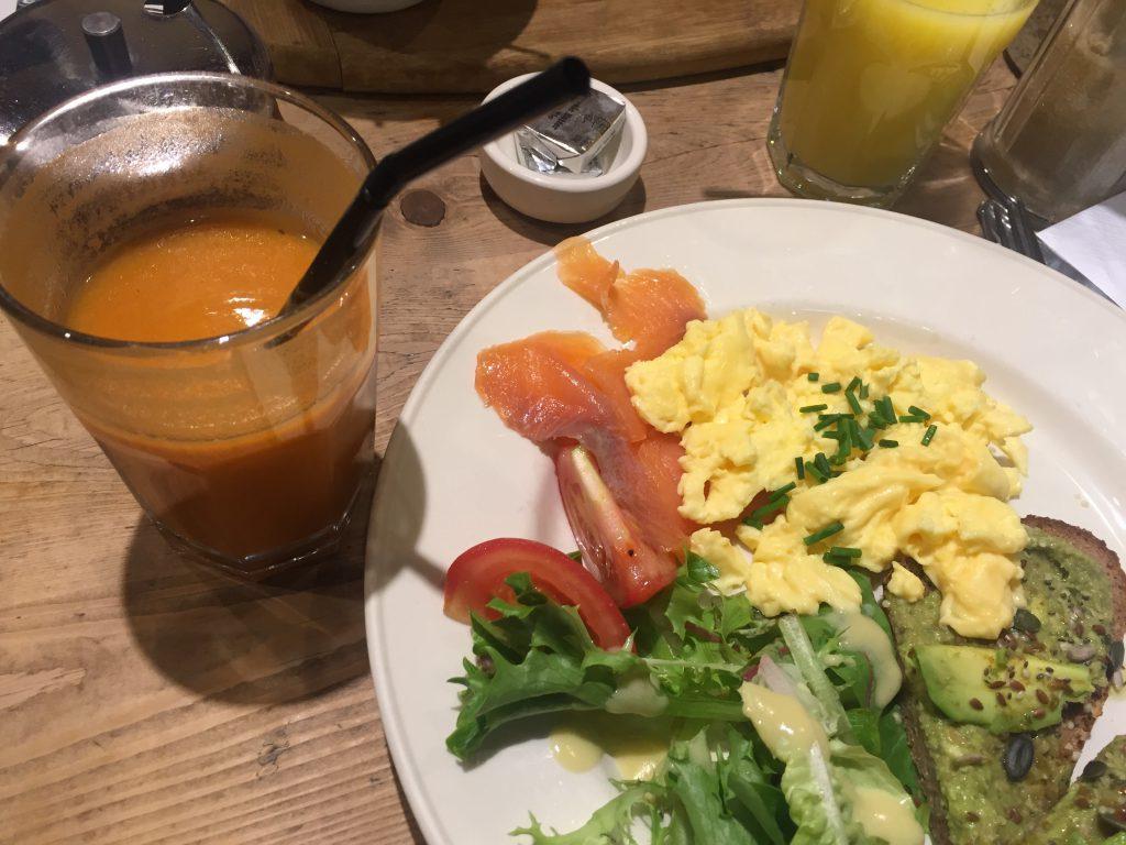 Le Pain Quotidien, breakfast, healthy