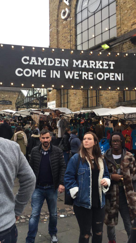 Camden Market, Come in, We're Open, London