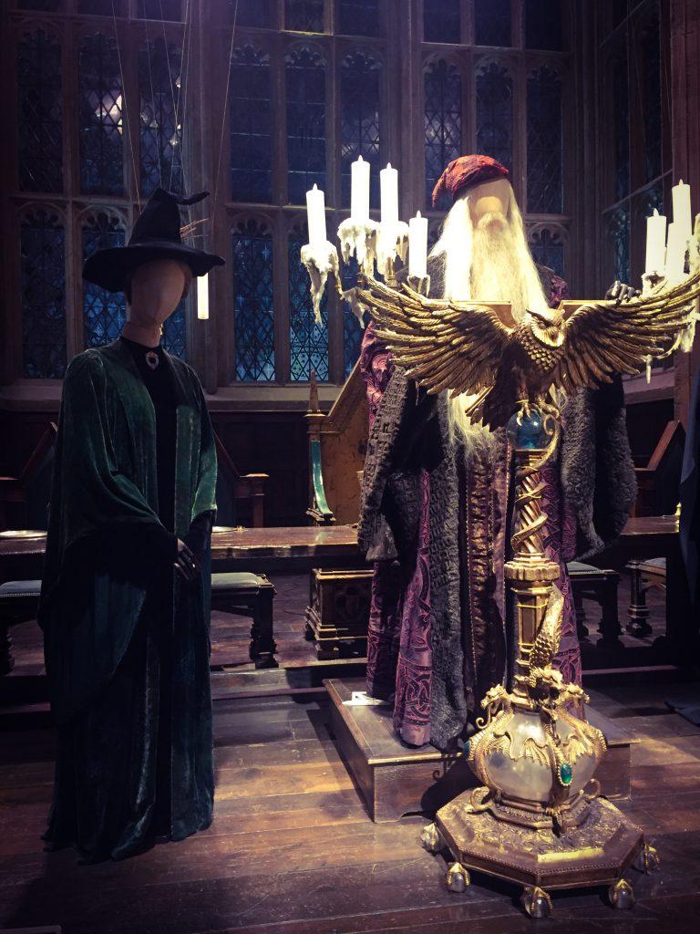 macgonagall and dumbledore