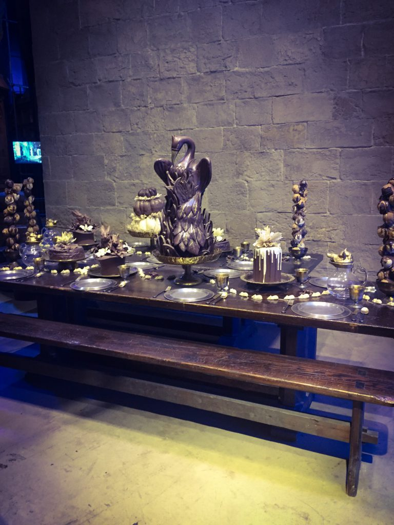 chocolate, yule ball, harry potter, studio tour, london