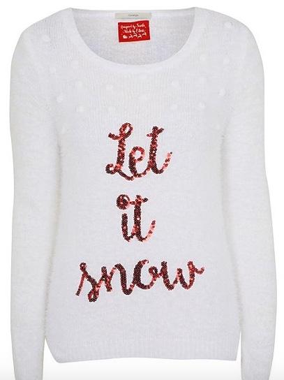 let-it-snow, christmas jumper