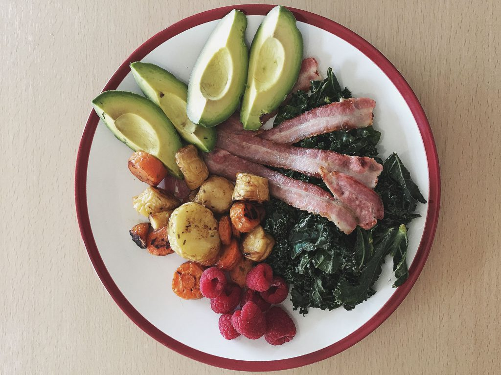 Paleo Breakfast Plate, Colorful Foods, Health