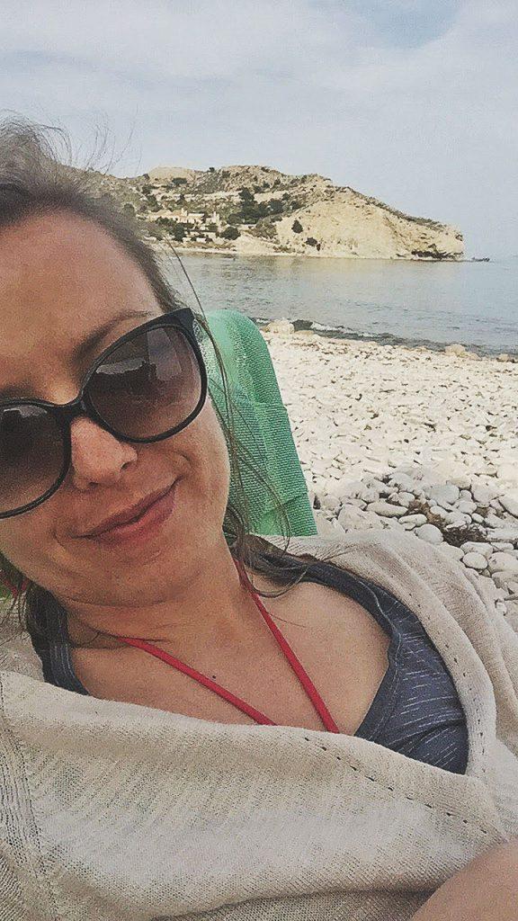 nap time in El Xarco Beach