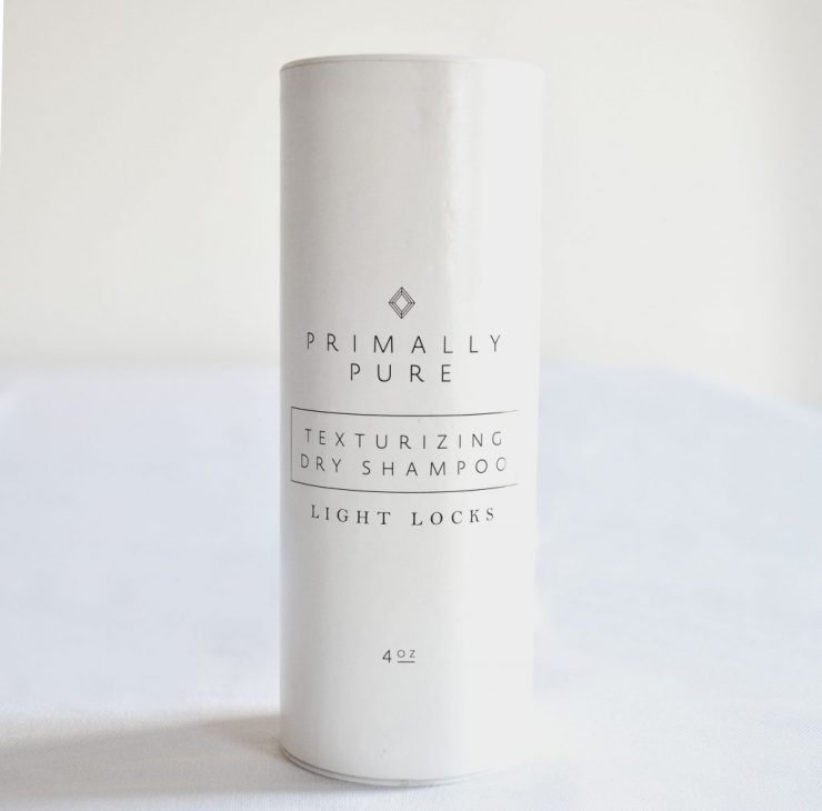 caffeineberry - Product Review - Primally Pure Dry Shampoo ...