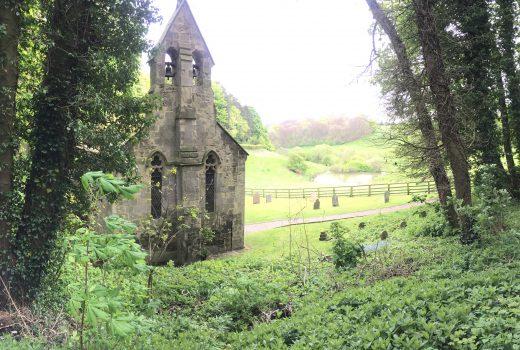 pretty church near bishop wilton, yorkshire