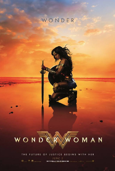 wonder woman movie poster - what's on in hull