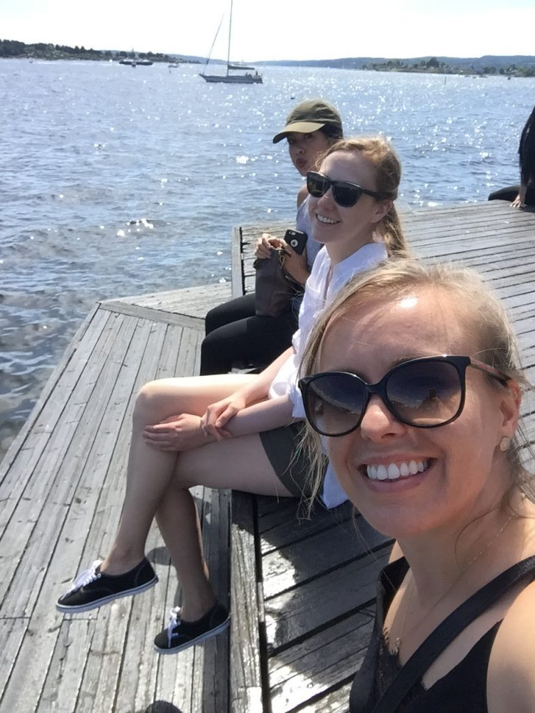 Oslo by the water