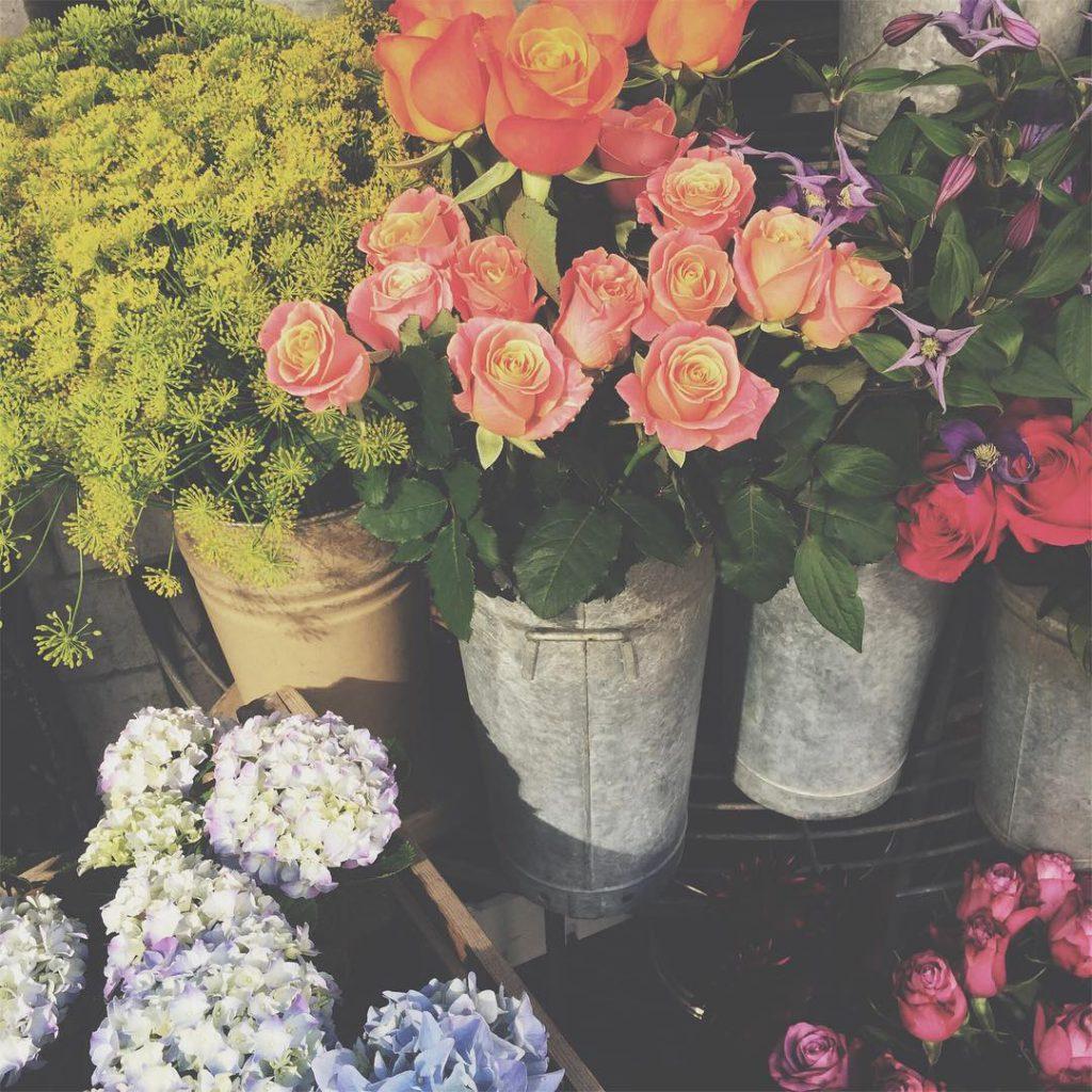pretty flowers in London
