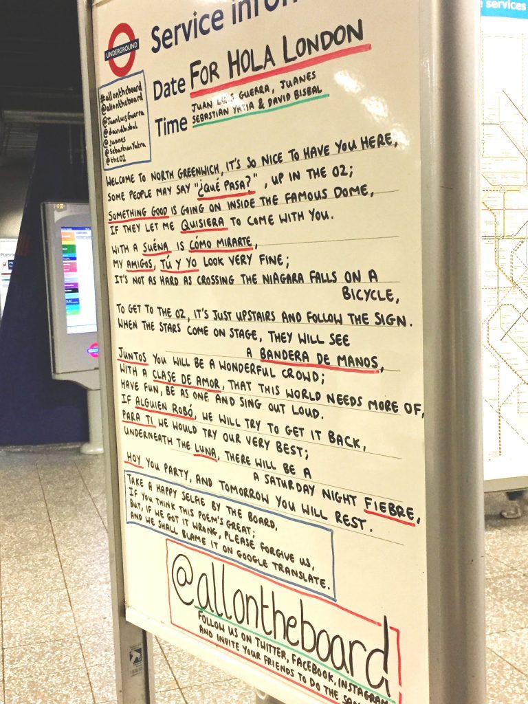 Hola London - Underground