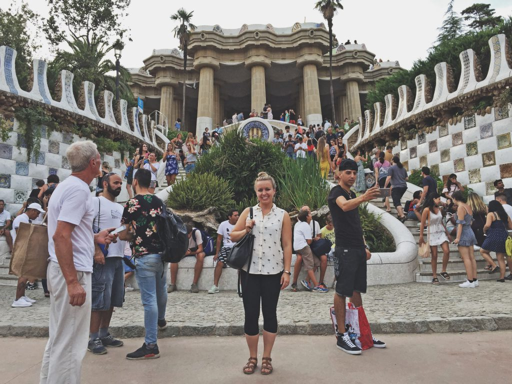Barcelona - Vistas desde Parque Guell