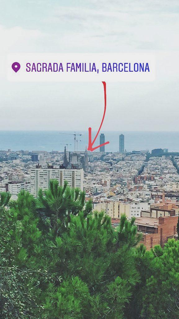 Barcelona desde Parque Guell