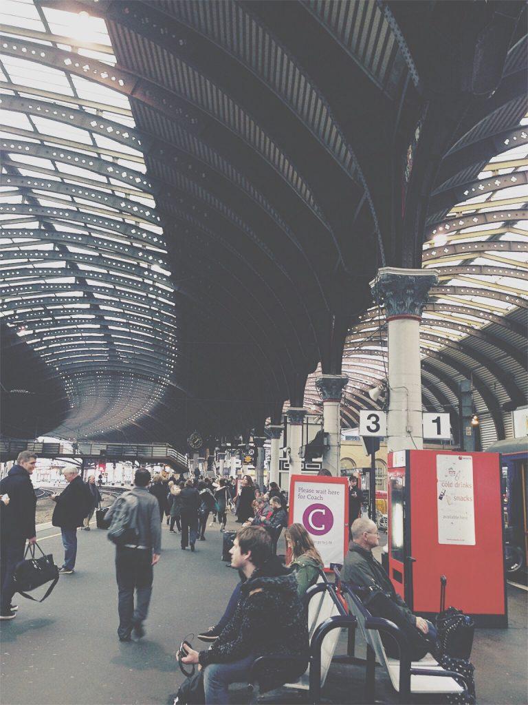 Travel Hacks - Train Station - Northern Rail - Caffeineberry