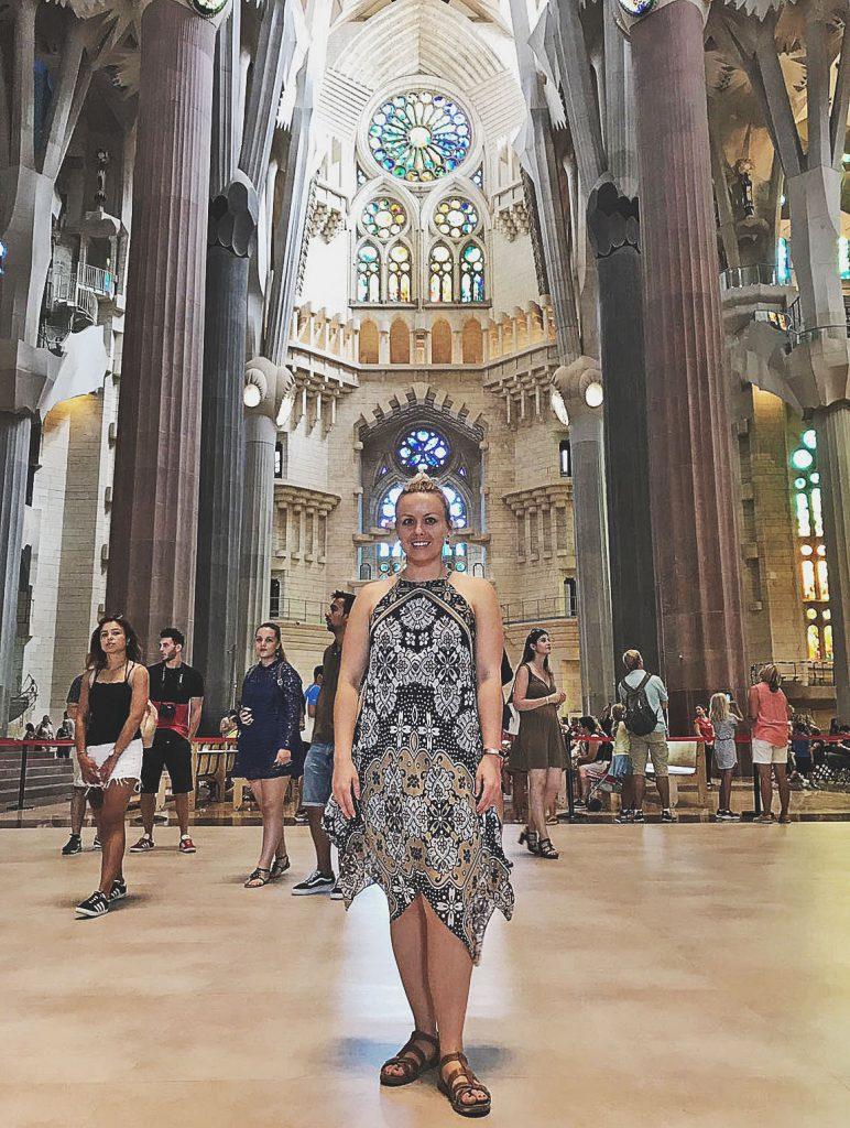 Taking it all in - Caffeineberry in Barcelona - Sagrada Familia