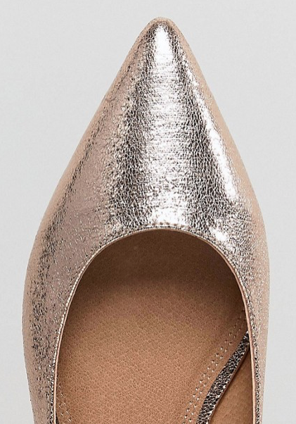 ASOS latch point flats - holiday party shoes