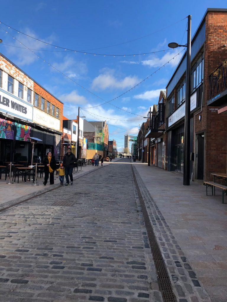 Sunny Day in Hull, Humber Street