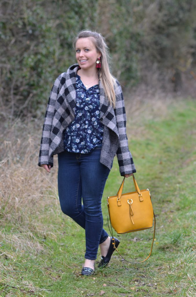 caffeineberry outfits and fashion, lifestyle blog, accessorize yellow bag