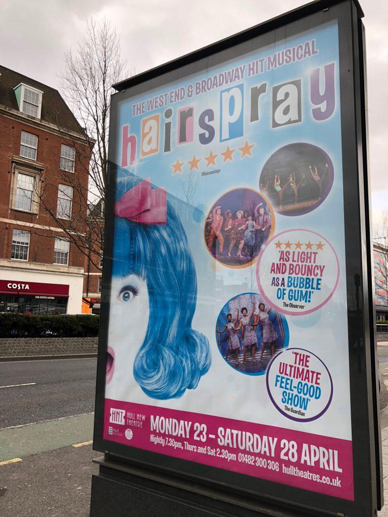Hairspray the musical in Hull