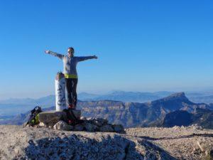 Happy New Year, Maigmo Mountain, Spain